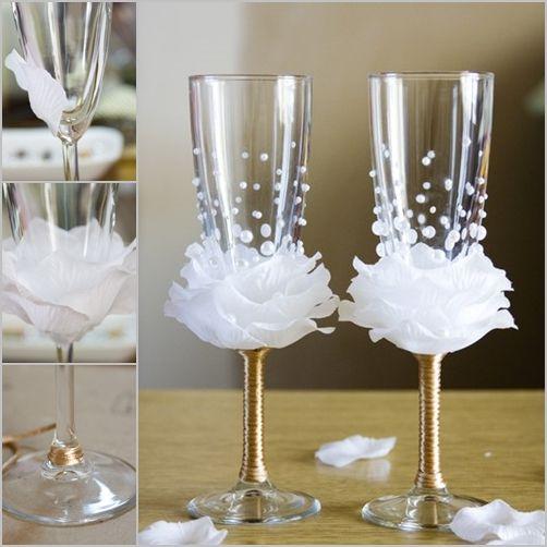 best 25 decorated wine glasses ideas on pinterest