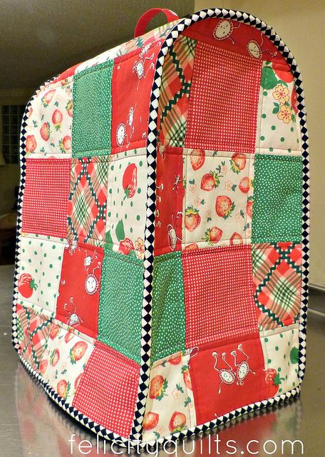 Kitchen Aid Mixer Food Processor Cover By Felicity.quilts, Via Flickr