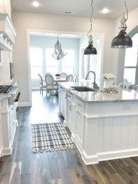 25+ best ideas about White Farmhouse Kitchens on Pinterest ...