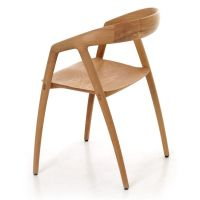 DC09 Chair in solid oak, sculpted to perfection by ...