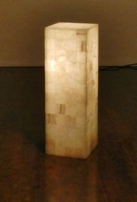 1000+ images about Onyx Stone lamp Alabaster on Pinterest ...