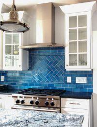 Ocean-Inspired Tile Backsplash   Calm, cool, and colorful ...
