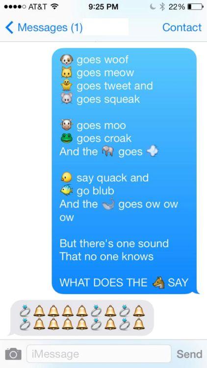 sweet emoji texts