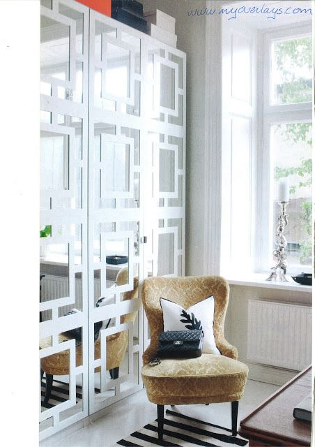 Mirrored Desk Ikea Fretwork Can Dress Up Simple Pieces Like These Custom Made
