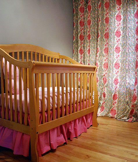 Diy Gathered Crib Skirt Create Baby Things