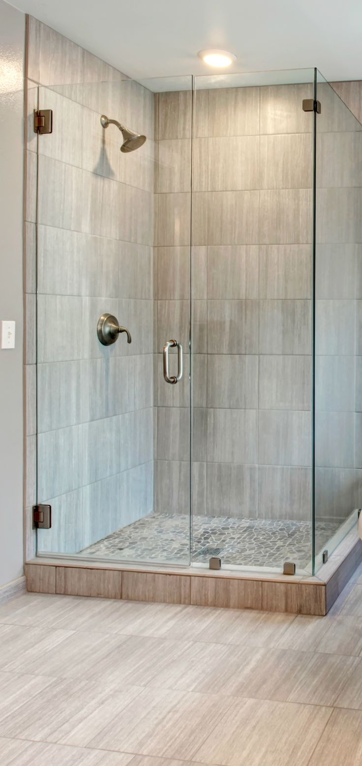 25+ best ideas about Corner showers on Pinterest