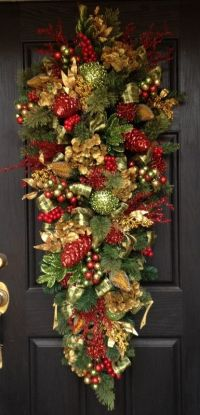 25+ best ideas about Christmas swags on Pinterest
