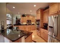Dark Kitchen Cabinets With Light Granite Countertops ...