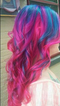 25+ best ideas about Blue and pink hair on Pinterest ...