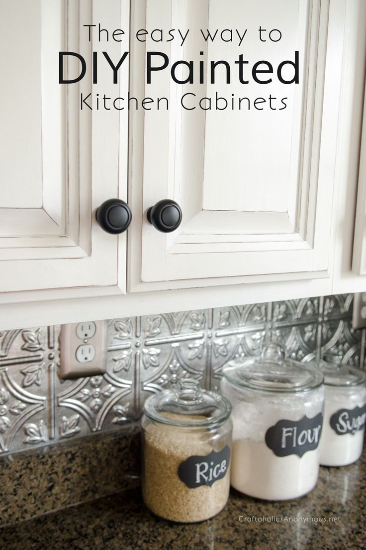 How To Paint Kitchen Cabinets With Chalk Paint Furniture