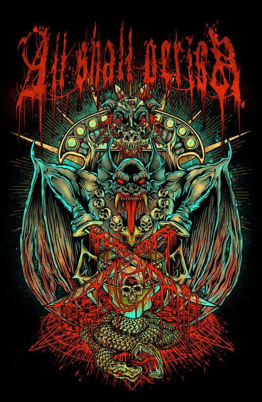 Falling In Reverse Wallpaper Iphone 4 874 Best Rock Amp Metal Posters Art Images On Pinterest