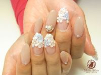 112 best images about Acrylic Flowers on Nails on Pinterest