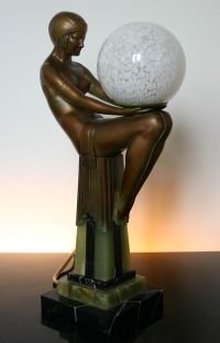 1000+ images about Art Deco table figural / sculptural ...