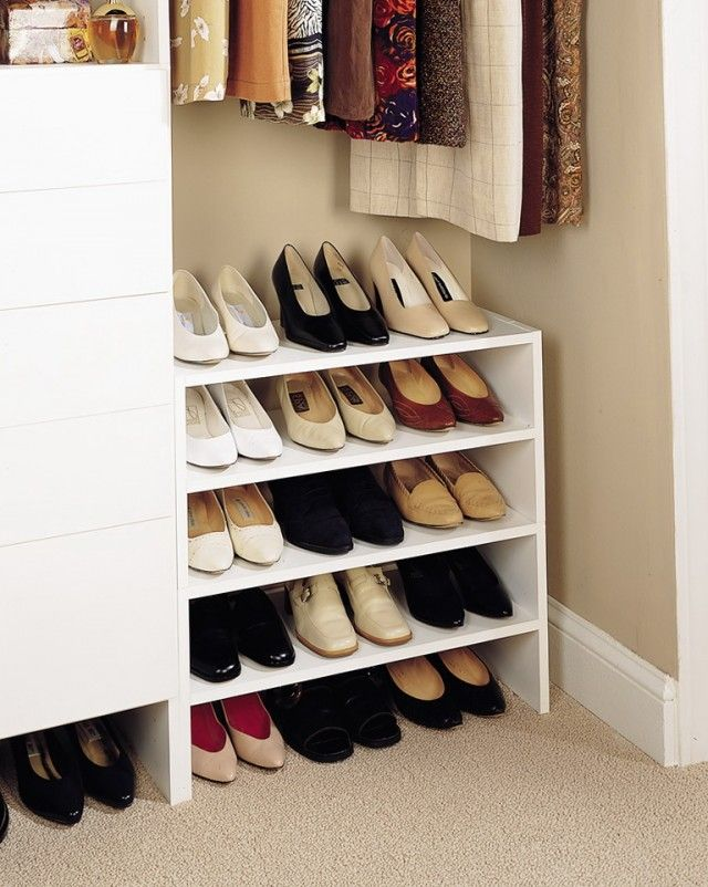 25 Best Ideas About Shoe Organizer Closet On Pinterest
