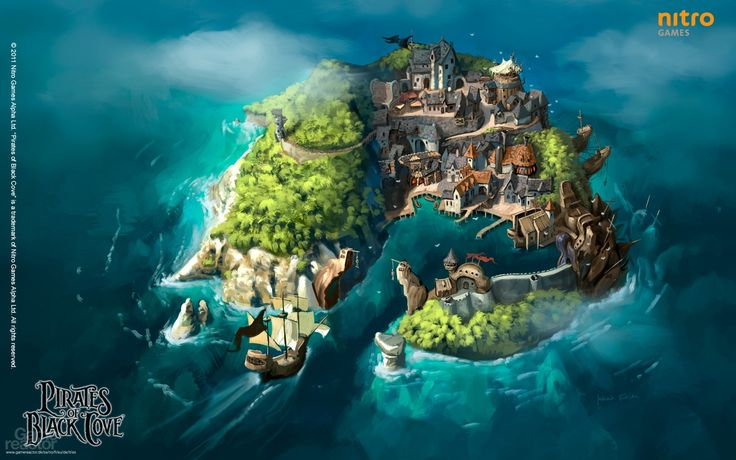 Stores That Have 3d Wallpaper Pirates Of Black Cove Gameplay Jpg 1920 215 1200 Pirates