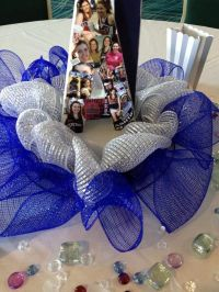 Cheer Banquet Table decorations - each girl's first ...