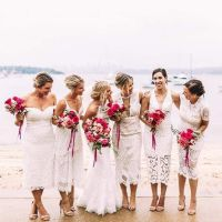 Best 25+ White bridesmaid dresses ideas on Pinterest ...