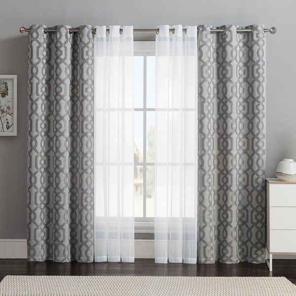 25+ best ideas about Double Curtains on Pinterest