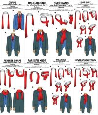 How to Tie Scarf for Men in 11 different Ways | www ...