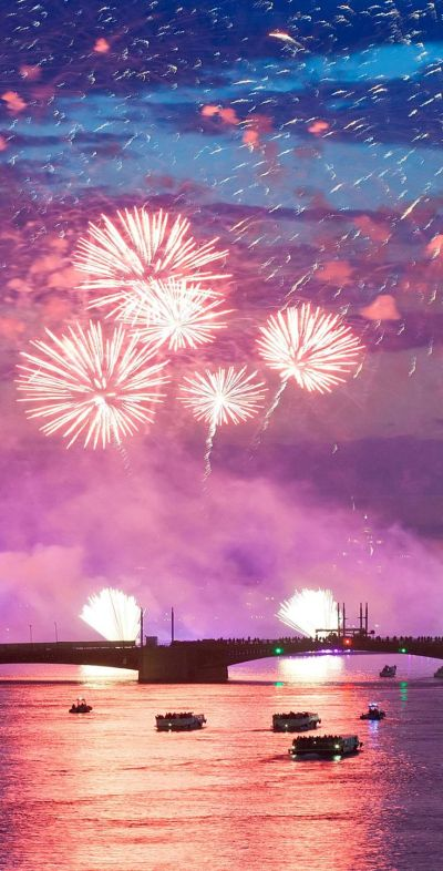 New Year HD and Widescreen Wallpapers | New Year's Eve Fireworks 4K HD Wallpaper http://www ...