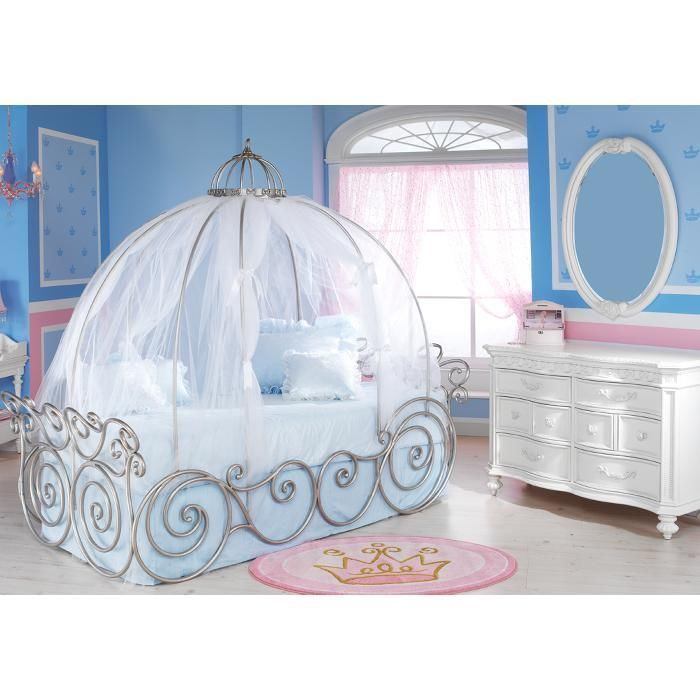 Kinderbett Ebay Details About Disney Carriage Bed Canopy Sheer (just The