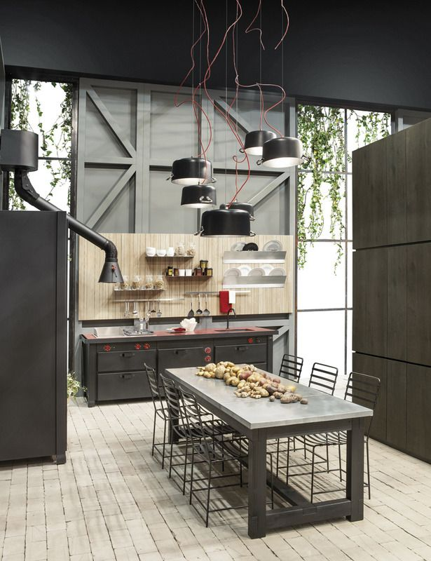 Muebles Cocina Industrial 71 Best Images About Cocinas Estilo Industrial On