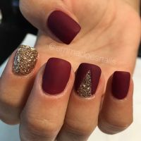 Best 25+ Red Nail Designs ideas on Pinterest | Red nail ...