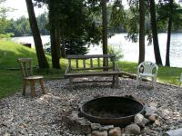 17 Best ideas about Rustic Fire Pits on Pinterest
