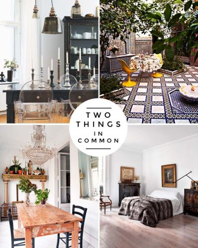 How to Mix Furniture Styles Effectively | Circles, The o ...