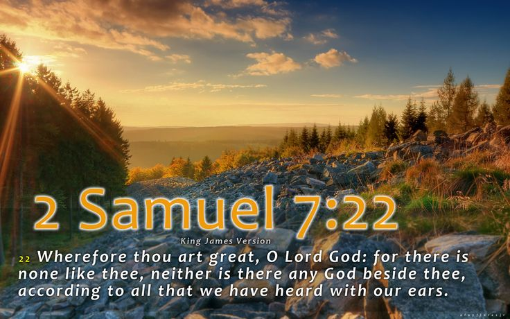 Cute Rustic Fall Wallpapers For Laptop 2 Samuel 7 22 Kjv 22 Wherefore Thou Art Great O Lord
