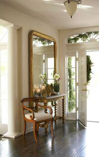 25+ best ideas about Foyer Mirror on Pinterest   Large ...
