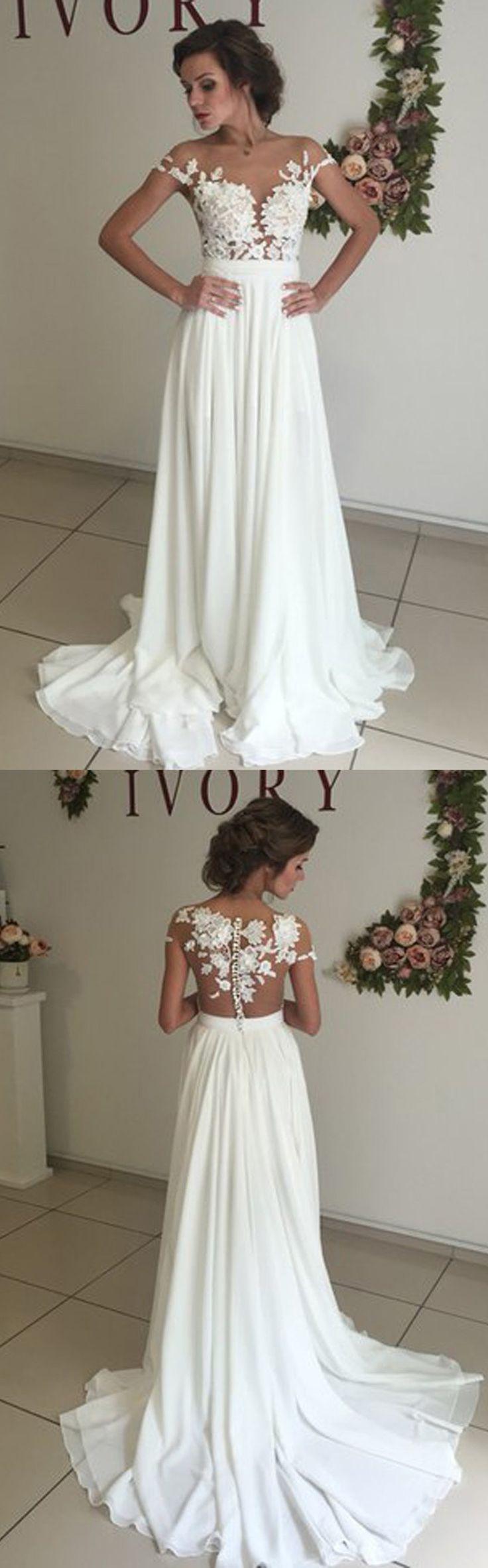 wedding dresses white wedding dress Elegant Wedding Dresses White Wedd