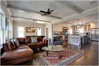 Kitchen-design : Family Room Contemporary Dallas Beams ...
