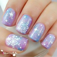 17 Best ideas about Snowflake Nails on Pinterest ...