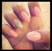 25+ Best Ideas about Long Oval Nails on Pinterest | Nude ...