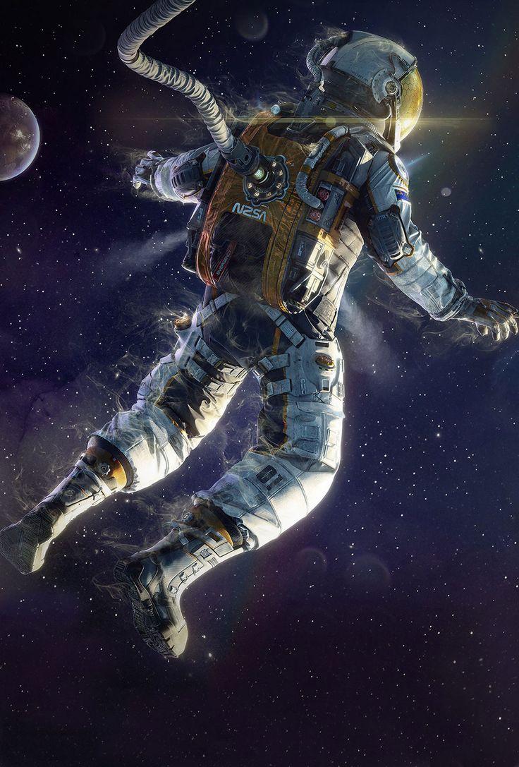 Wampire Moon Wallpaper Desktop 3d Http Parallax Wallpapers Com Post 69422445997 Astronaut