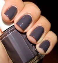 """fall nail color-- essie """"smokin hot"""" Let me just say I am ..."""