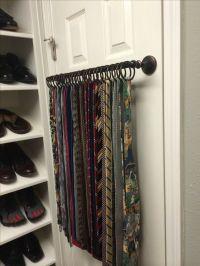 17 Best ideas about Tie Rack on Pinterest