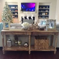 Best 25+ Table behind couch ideas on Pinterest