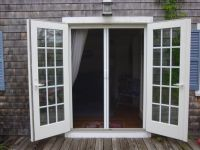 25+ best ideas about French doors with screens on ...