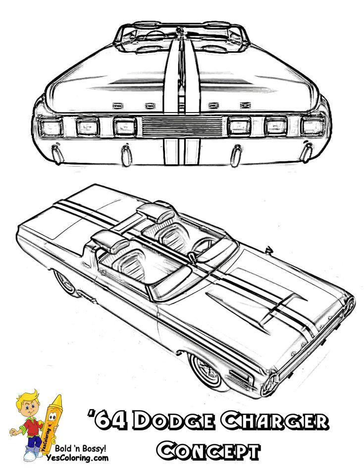 1971 dodge charger Schaltplang