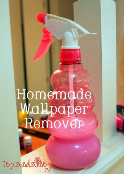Recipe for homemade wallpaper remover and instructions to remove it | Baby | Pinterest | Warm ...