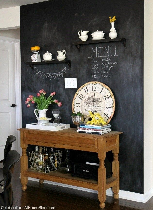 Meuble Accent Refrigerateur 25+ Best Ideas About Kitchen Chalkboard Walls On Pinterest