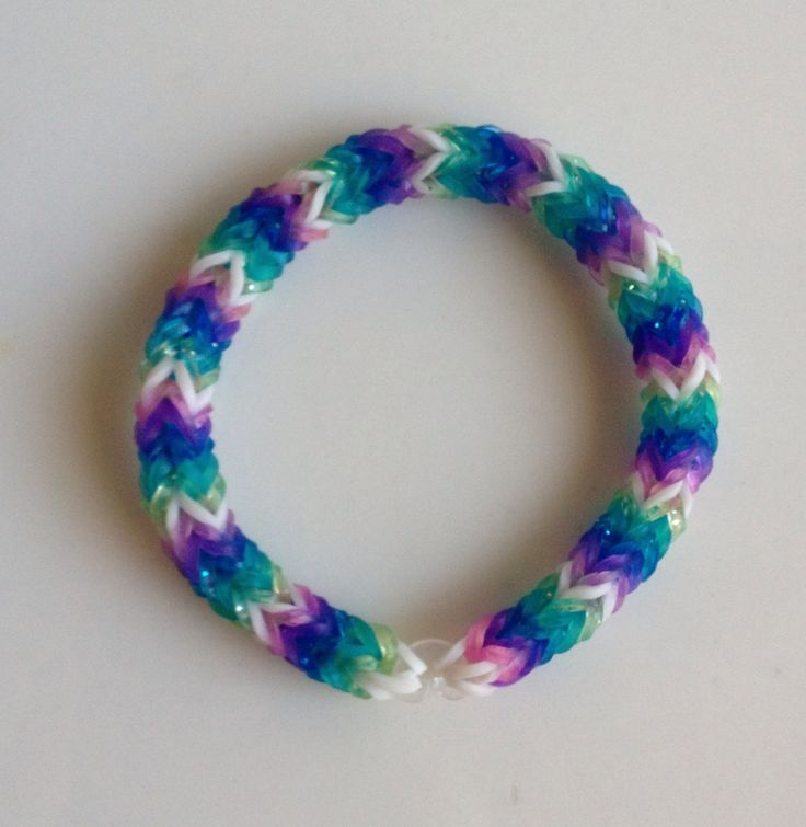 24 Best Images About Rubberband Bracelets On Pinterest