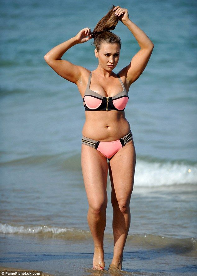 2 Year Old Little Girls Happy Birthday Wallpaper Lauren Goodger Displays Her Newly Toned Curves As She Hits