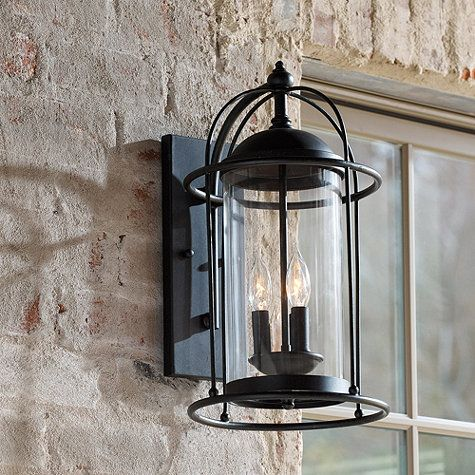 Outdoor wall sconce, Outdoor walls and Verano on Pinterest
