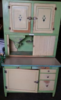 The 980 best images about Antique Hoosier Cabinets And ...
