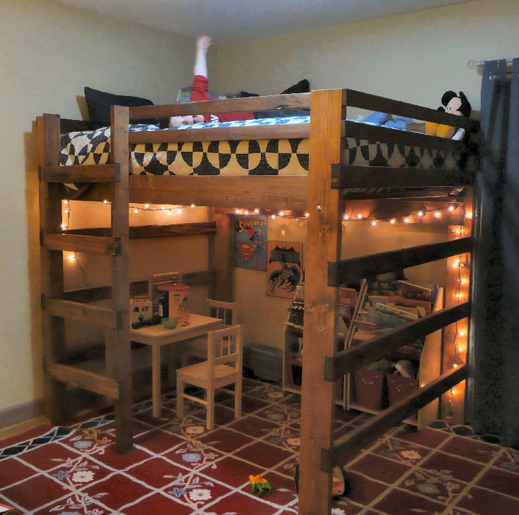Slide Under Sofa Table Best 25+ Boys Loft Beds Ideas On Pinterest
