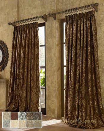 Castella Curtain Drapery Panels