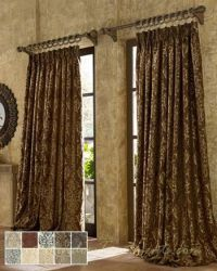 Castella Curtain Drapery Panels | Two tones, Cool walls ...